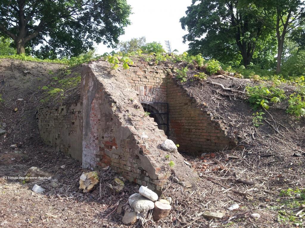 Oczyszczony Fort Traugutta